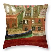 Italy Throw Pillow by Tyler Schmeling