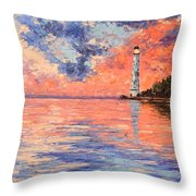 The Much Anticipated Shore Throw Pillow