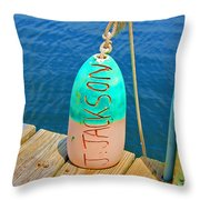 Its A Buoy Throw Pillow
