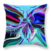 It's A Butterfly's Life. Throw Pillow