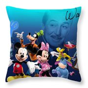 Its A Disney Thing Throw Pillow