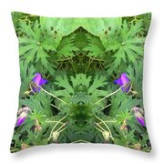 It's A Funny World...anyway... Throw Pillow