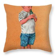 It's A Hot Day - Es Un Dia Caliente Throw Pillow