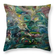 Charming Chasms Series It's A Jungle Throw Pillow