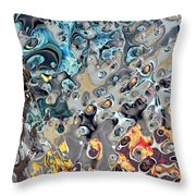 It's A Mad, Mad, Mad World Throw Pillow