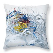 It's A New Day 05 Throw Pillow