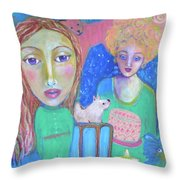 It's A Party Throw Pillow