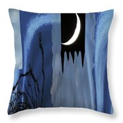 It's A Squiggly World 2 Throw Pillow
