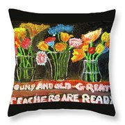 It's A Wonderful Day Throw Pillow