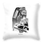 Its Alive Throw Pillow