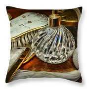 Its All About Glamour Throw Pillow