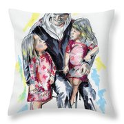 It's All About Love Throw Pillow