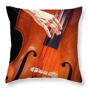 It's All About The Bass Throw Pillow