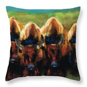 Its All Bull Throw Pillow