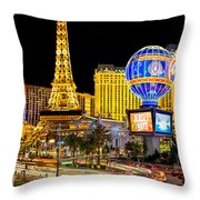 It's All Happening Throw Pillow