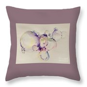 It's All In The Bubble Throw Pillow