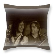 It's All Rock And Roll Throw Pillow