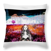 It's Always About Alice Throw Pillow