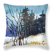 It's Cold Outside Throw Pillow