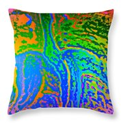 Its Getting Darker Every Day  Throw Pillow