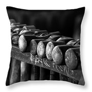 It's Hammer Time Throw Pillow