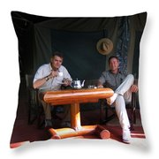 It's Hell In The Bush Throw Pillow
