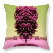 Its In The Tree Throw Pillow