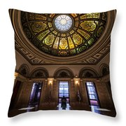 It's Looking At You Throw Pillow