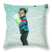 it's mine and I am going home Throw Pillow
