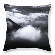 It's Moist Down There Throw Pillow