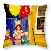 Its My Party Throw Pillow