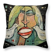 Its Not Nice To Fool With Mother Nature Throw Pillow