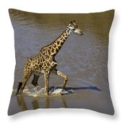 It's Only Ankle Deep Throw Pillow