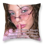 Its Our Secret Throw Pillow