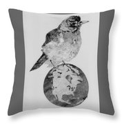It's Our World Too Throw Pillow