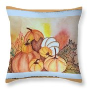 It's Pumpkin Time Throw Pillow
