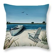 Its Summertime Throw Pillow