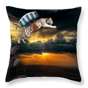 It's The Thrill Of The Flight Throw Pillow