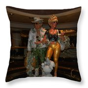 Its Vegas Baby Throw Pillow