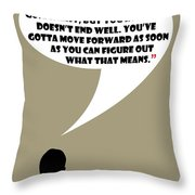 It's Your Life - Mad Men Poster Don Draper Quote Throw Pillow