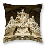 Iustitia Throw Pillow