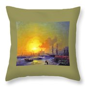Ivan Constantinovich Aivazovsky  Throw Pillow