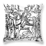 Ivan Iv Vasilevich (1530-1584) Throw Pillow