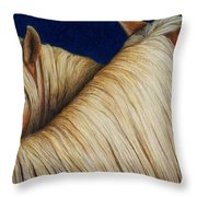 I've Got Your Back Throw Pillow by Pat Erickson
