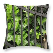 Ivy And Gate Throw Pillow