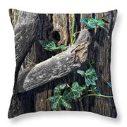 Ivy And Tree Throw Pillow