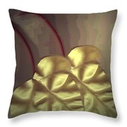 Ivy Heart Throw Pillow