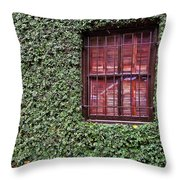 Ivy House Throw Pillow