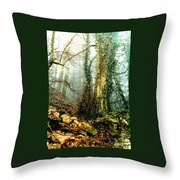 Ivy In The Woods Throw Pillow