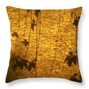 Ivy Shadows Throw Pillow